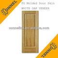 madeira de carvalho branco folheado 1 painel de hdf pele moldada da porta