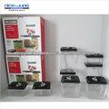 Recipiente de alimento plástico/caixa de armazenamento/vasilha/recipiente acrílico