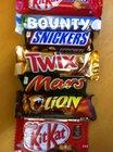 Mars Snickers Kitkat Bounty Twix