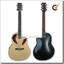 """41"""" image de plástico alrededor de la espalda de la guitarra occidental con eq( afo229ce)"""