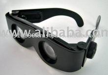 TV hot sell Zoomies hands free binoculars plastic adjustable magnifying glasses binoculars