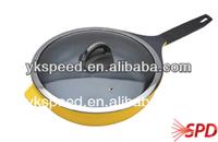 Deep fry pan set microwave oven frying pan