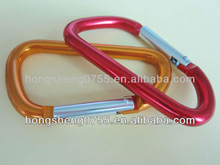 Fashionable colorful carabiners for decoration from china