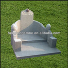 Hand Carved Polished Stone Tombstone