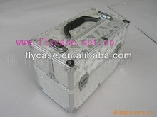 Aluminum alloy stylish and impactful make up case light with your logo printed