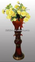 Hand painted flower vase,luxury decorative flower vase, large vase (BF01-10010)