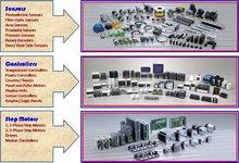 Sensors, Controllers, Step Motor