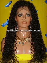 Queens hair glueless virgin brazilian curly hair wig for black women natural looking pure human hair wig