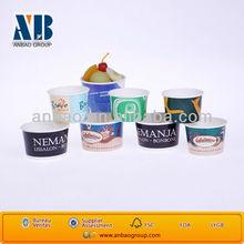 ice cream paper containers