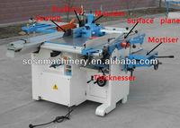woodworking machine combine ML410,400mm working width,planer,thicknesser,sawing,moulder,driller,mortiser