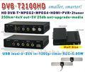 Hd dvb-t2100hd/sd dvb-t isdb- t para dvb-t conversor