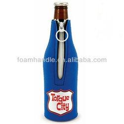 Neoprene bottle cover,beer bottle cover,neoprene insulated bottle cover