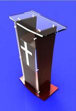 Acrylic Podium/Lectern/Pulpit/Plexiglass/Lucite/clear(LE-G017)