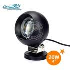 Round spot beam 12V 24V motorcycle work light 20 watt mining led spotlights