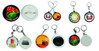 Pins, Badges, Buttons, Keychain, Bottle Opener, Phone accessories