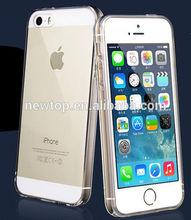 Hot sale for iphone 5 clear tpu soft gel case
