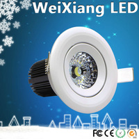 wholesale lighting for barber shop 5w-7w COB led downlights with CE ROHS approved used show lighting