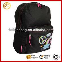 Popular durable girls shoulder strap book bag