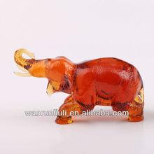 coloured glaze Elephant Figurines-04