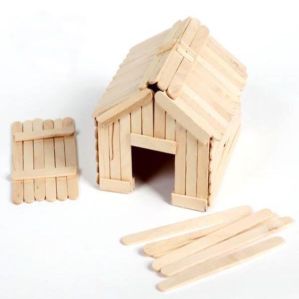Prime qualit assortis de couleur bricolage en bois b tonnet outils de cr me glac e id du for Bricolage bois facile