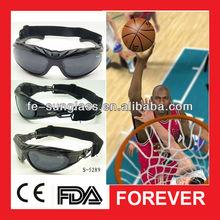 S5289 2013 New Fashion 100%Freestyle Michael Jordan Design Street Basketball polarSports Sunglasses with Anti-slip Elastic Strap
