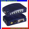 VGA-AV VGA RCA Converter Box