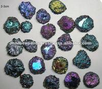 flower druzy gemstone