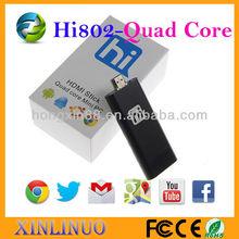 Android 4.2 mini pc Hi802 quad core android tv Dongle Freescale i.mx6 1.2Ghz Quad core