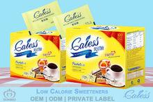 Low calorie tabletop sweetener low calorie sugar substitute