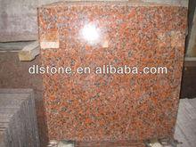 Red granite floor tile G562(Maple red)