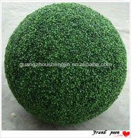 2013 Artificial boxwood ball for home garden wedding decoration Artificial Boxwood Topiary Grass Ball Factory