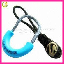 Top quality oem logo design fashion pattern artwork embossed micro-injection custom soft pvc fancy zipper pulls