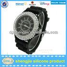 Fashion sports watch with diamond / quartz brand watches