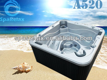 2013 Hot Selling Massage Spa/Water Pools Two lounge hot tub-A520