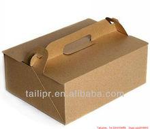 kraft paper cake packaging box, paper cake box,paper food box