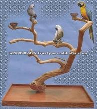 High Quality Coffee Birds Handmade Decorative Wooden Tray