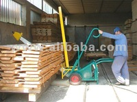 Mobile package crosscut saw