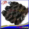 el precio de fábrica primas naturales del pelo de malasia pista trenza de cabello