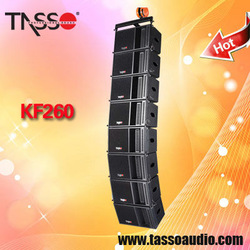 mini installed line array sound speaker device