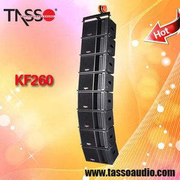 mini installed line array sound speaker device