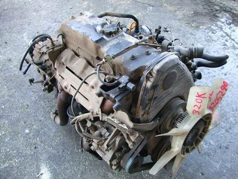 Toyota 3L usado motor DIESEL