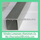 factory price customized aluminium square tube