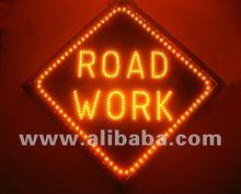 LED sign road sign