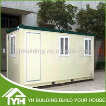 Light prefabricated house/Steel frame container house made in recycled materials