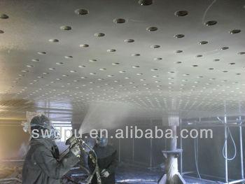 (SPUA) two component spray polyurea elastomer coating