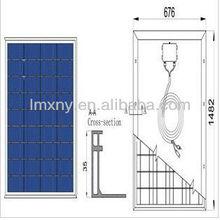 2013 znshine solar modules pv panel 140W polycrystalline solar PV module