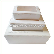 Paper disposable food containers lunch boxes bento boxes