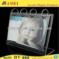 Calendrier perpétuel en laiton pop/acrylique calendrier/acrylique