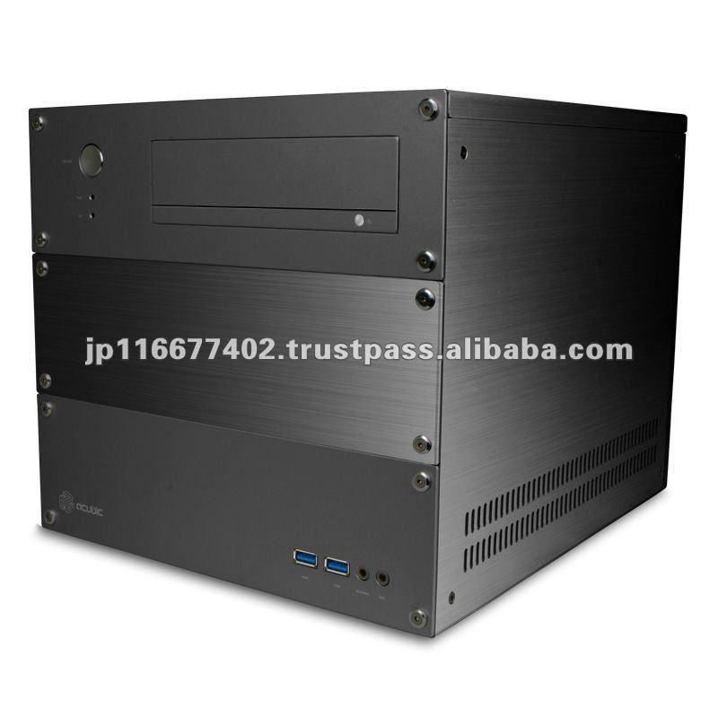 acubic CP715 Black / Aluminum PC case Price negotiable!!