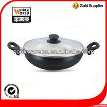 Eco friendly ceramic coating dutch oven casserole pot cookware